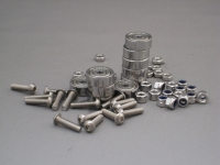 Bearings 633ZZ, Bolts and (self locking) Nuts, 10 pcs each, for MakerBeam