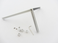 MakerBeam Corner Cubes 10mm x 10mm x 10mm Clear, 12 pcs, incl. screws and Allen key