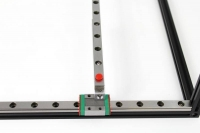 600mm Linear Slide Rail, 1pcs. for MakerBeam, MakerBeam XL and OpenBeam