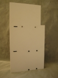 Polystyrene Sheet white, 300mm x 200mm x 3mm