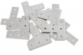 T-bracket, joining plate L-shape, 12pcs., stainless steel