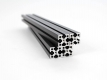 200mm MakerBeamXL, 4pcs., Aluminum Black anodised