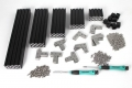 PREMIUM MakerBeam XL Starter Kit Black Anodised in Storage Box