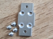 Joint Plate for Carriage of Linear Rails with Bolts 1 pcs.
