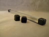 Vinyl End Caps for MakerBeam (black, 4 pcs)