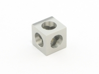 Corner Cubes clear 15mm x 15mm x 15mm, 12 pcs, for MakerBeamXL and OpenBeam