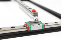 200mm Linear Slide Rail, 1pcs. for MakerBeam, MakerBeam XL and OpenBeam