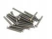 Bag of M3 bolts with square head, 25mm for MakerBeam, 25pcs